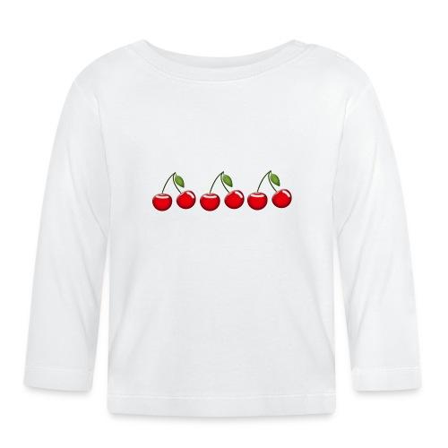 cherries - Baby Long Sleeve T-Shirt