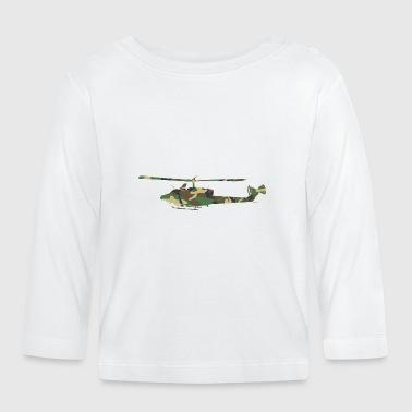 Camouflage Helikopteri - Vauvan pitkähihainen paita
