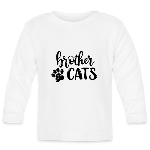Brother of cats - Baby Langarmshirt