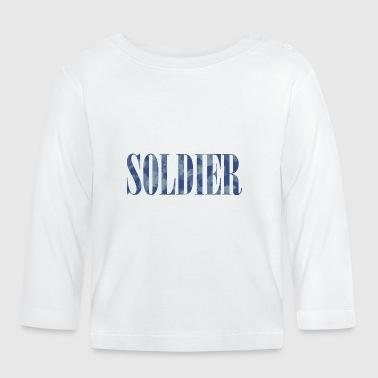 Soldier Camouflage - Vauvan pitkähihainen paita