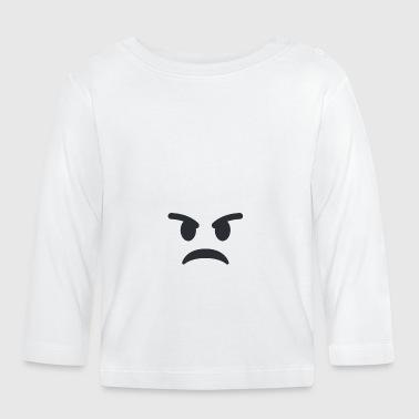 Zły - Koszulka niemowlęca z długim rękawem