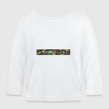 Camouflage tekstaus - Vauvan pitkähihainen paita