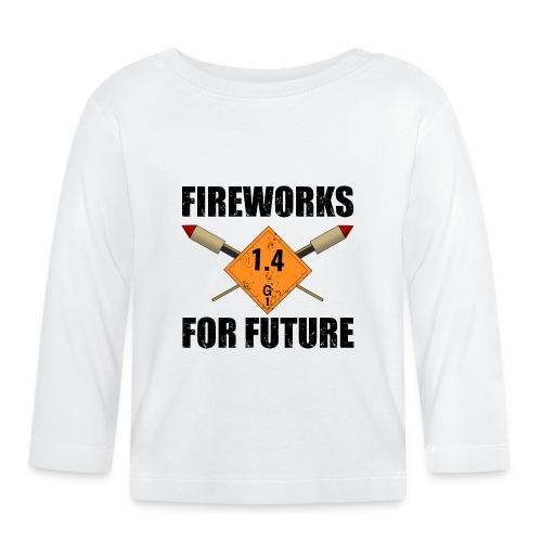 Fireworks for Future Pyro - Baby Langarmshirt