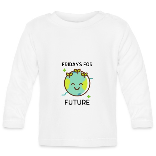 Fridays for Future LIGHT - Baby Long Sleeve T-Shirt