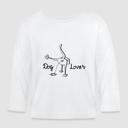Dog Lover - Baby Langarmshirt