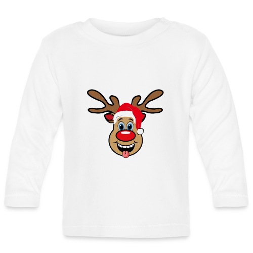 Team Rudolph Rudi Reindeer - Baby Langarmshirt