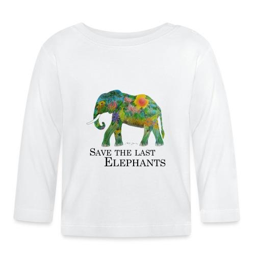 Save The Last Elephants - Baby Langarmshirt