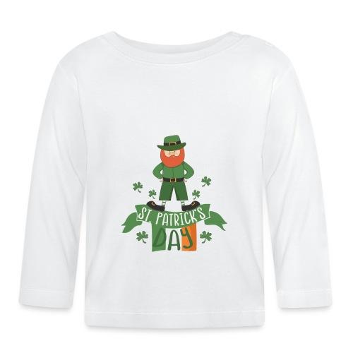 St. Patrick's day feiern mit Glücksbringer - Baby Long Sleeve T-Shirt