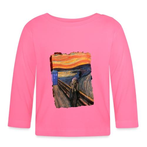 Screaming Tardis - Baby Long Sleeve T-Shirt