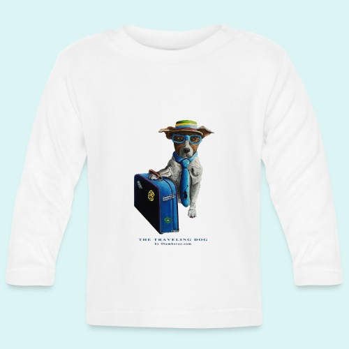 The Traveling Dog - Baby Long Sleeve T-Shirt