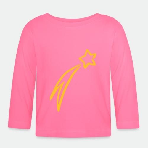 Sternschnuppe drawing - Baby Long Sleeve T-Shirt