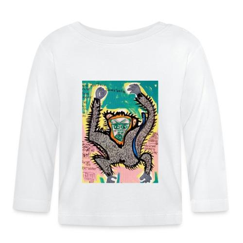 the monkey - Maglietta a manica lunga per bambini