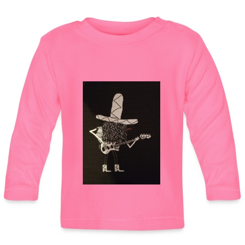Mexican Bass Player - Baby Long Sleeve T-Shirt
