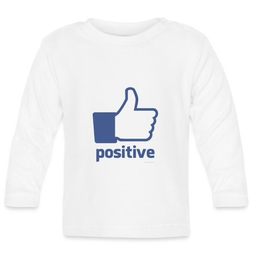 positive - Camiseta manga larga bebé