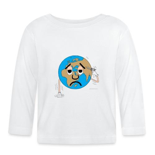 mundo suicida world - Camiseta manga larga bebé