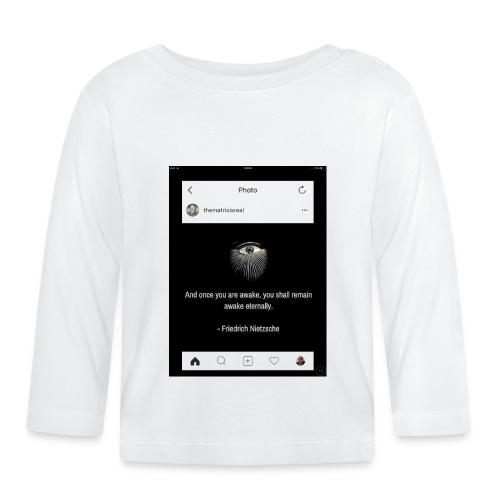 81F94047 B66E 4D6C 81E0 34B662128780 - Baby Long Sleeve T-Shirt
