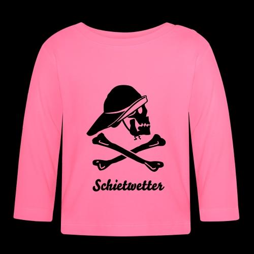 Schietwetter - Baby Langarmshirt