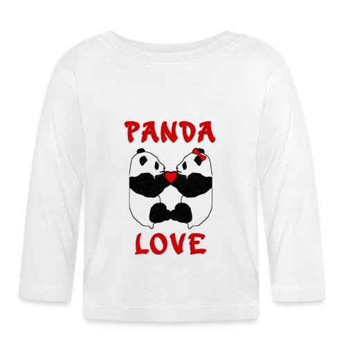 Panda Love - Baby Long Sleeve T-Shirt