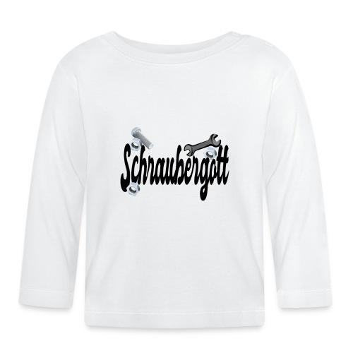 Schraubergott - Baby Langarmshirt