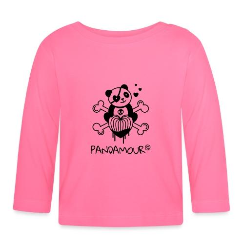 PANDAMOUR - T-shirt manches longues Bébé