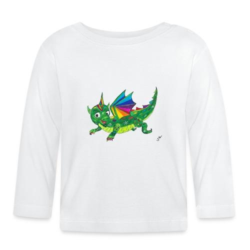 happy dragon - Baby Langarmshirt