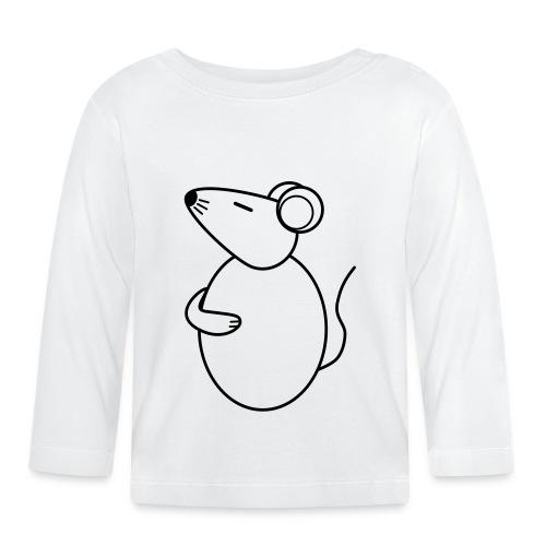 Rat - just Cool - sw - Baby Langarmshirt