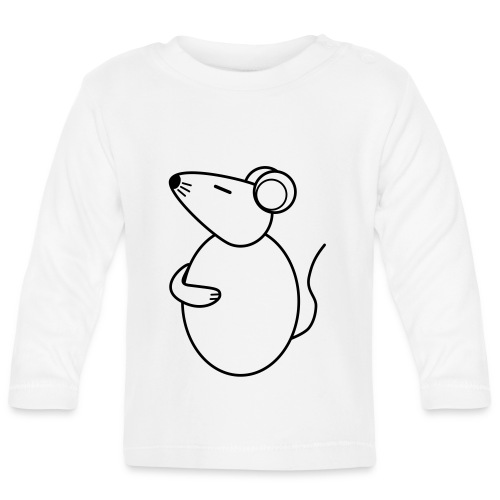 Rat - just Cool - sw - Baby Long Sleeve T-Shirt