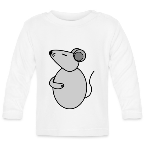Rat - just Cool - c - Baby Langarmshirt