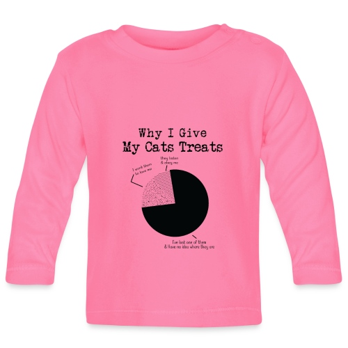 WHY I GIVE - T-shirt manches longues Bébé
