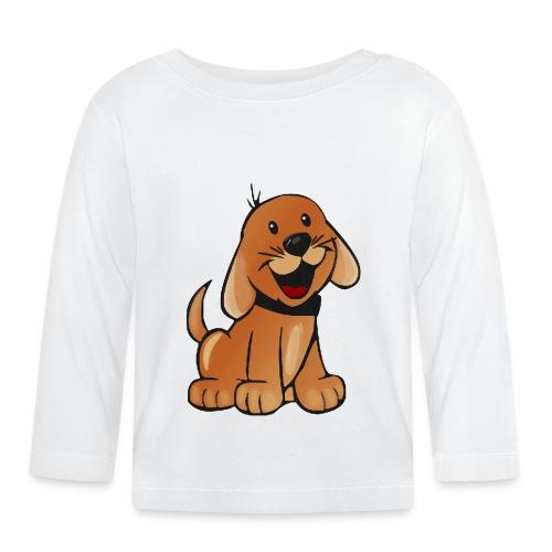 cartoon dog - Maglietta a manica lunga per bambini
