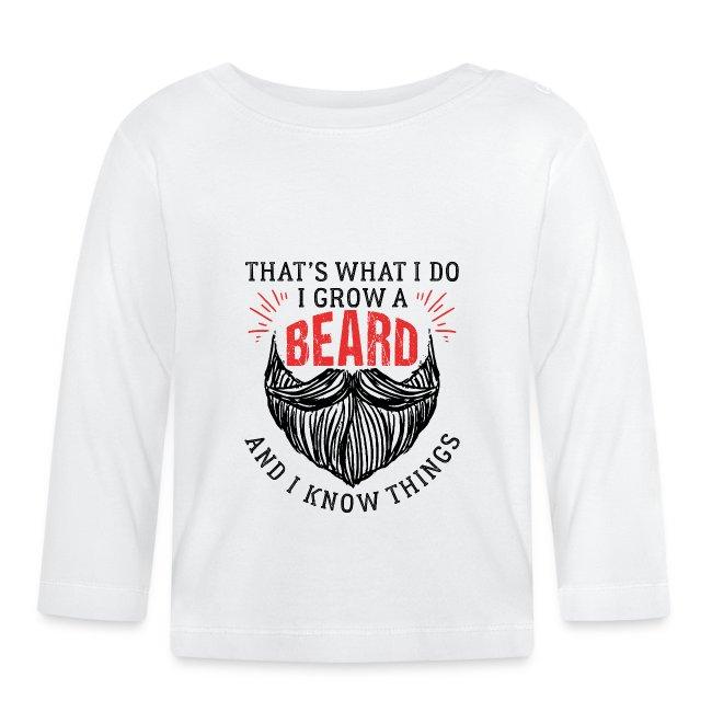 That's What I Do I Grow A Beard