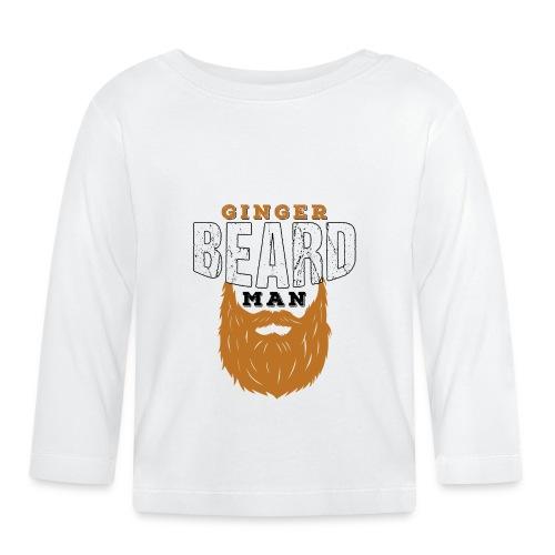 Beard Ginger Beard Man Redhead Gifts For Men - Baby Langarmshirt