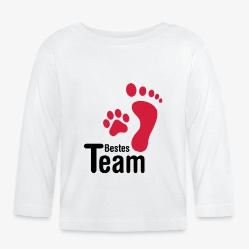 Bestes TEAM - Baby Langarmshirt