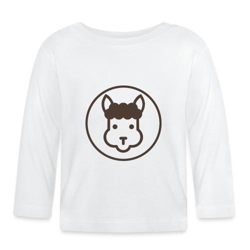 Llamalicious Logo - Langærmet babyshirt
