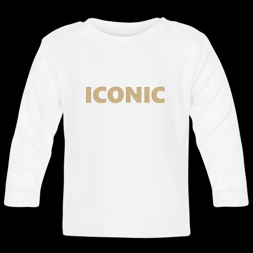 ICONIC [Cyber Glam Collection] - Baby Long Sleeve T-Shirt