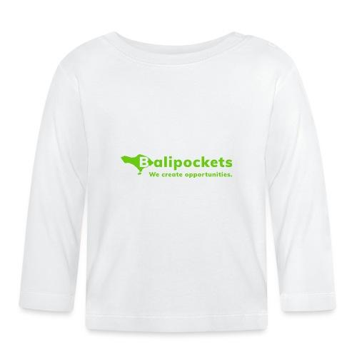 Balipockets Logo - Baby Langarmshirt