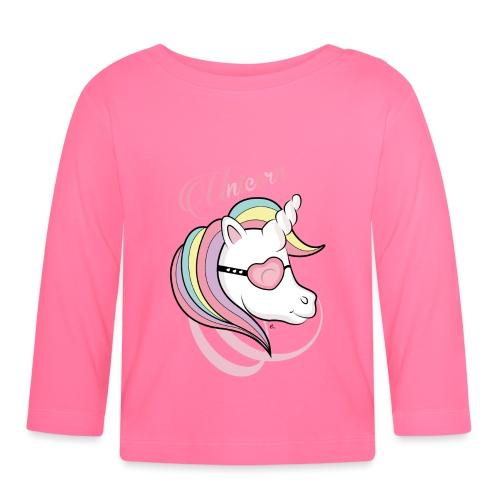 Unicorn - T-shirt manches longues Bébé
