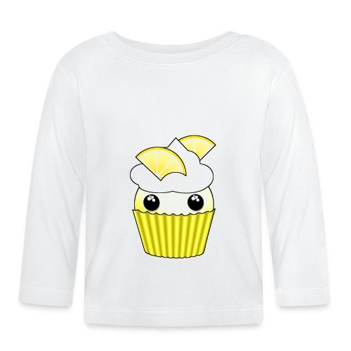 Kawaii lemon cupcake - Baby Long Sleeve T-Shirt