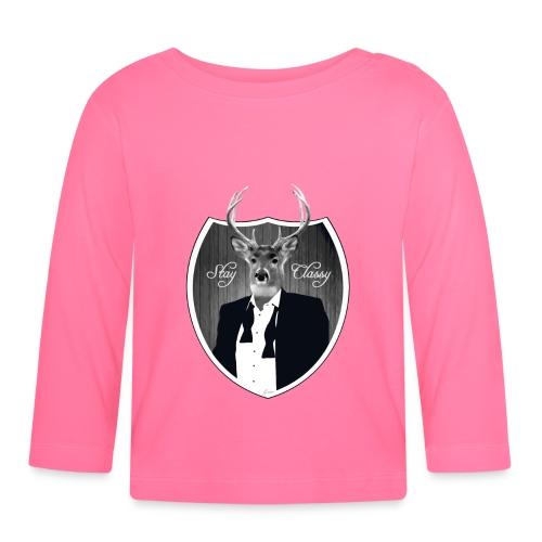 Deer in tuxedo - Baby Long Sleeve T-Shirt