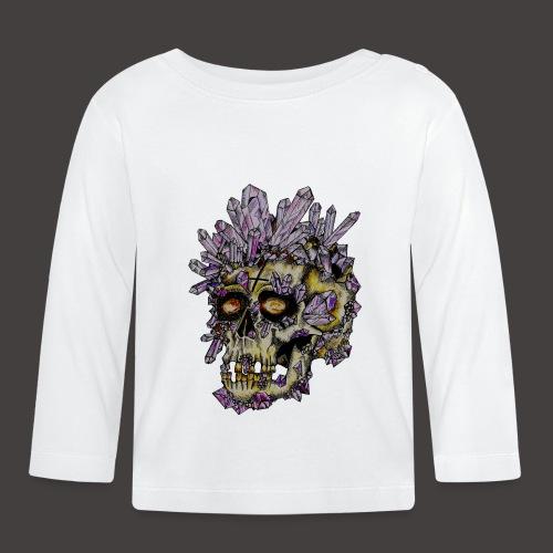 Le Crane de Cristal Creepy - T-shirt manches longues Bébé