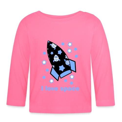 I love space - Maglietta a manica lunga per bambini