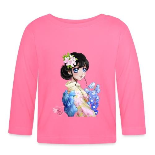 Amina in Japan - T-shirt manches longues Bébé