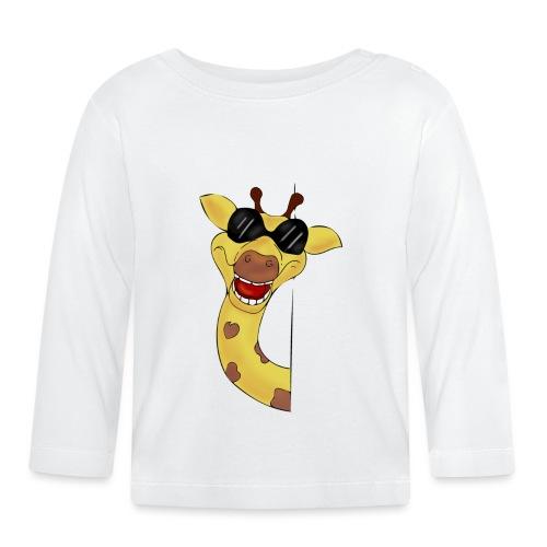 Giraffa - Maglietta a manica lunga per bambini