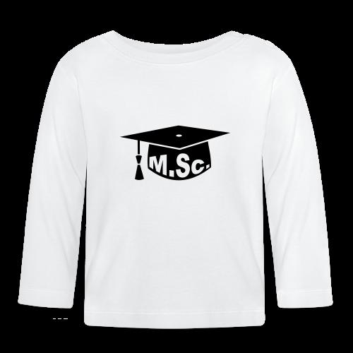 Doktorhut Master of Science M.Sc Doktorarbeit - Baby Langarmshirt