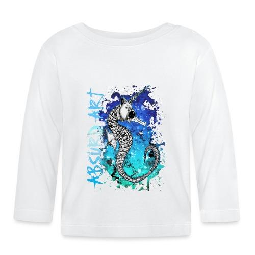 Knochentierchen Seepferdchen von Absurd ART - Baby Langarmshirt