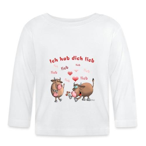 Liebe - Heiratsantrag - Baby Langarmshirt