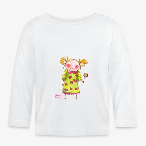 fille happy - T-shirt manches longues Bébé