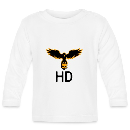 HD aigle skull - T-shirt manches longues Bébé