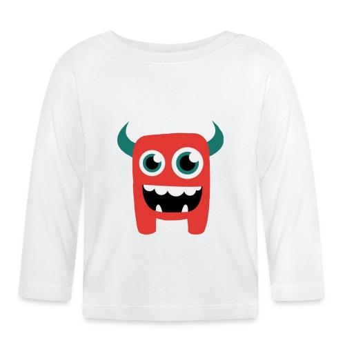 Kleines Monster - Baby Langarmshirt