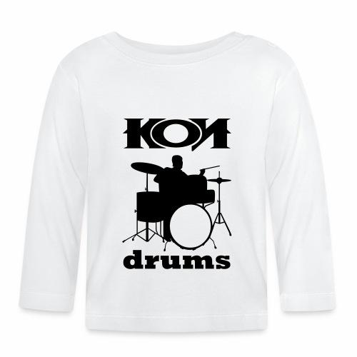 KON - DRUMS - Baby Langarmshirt